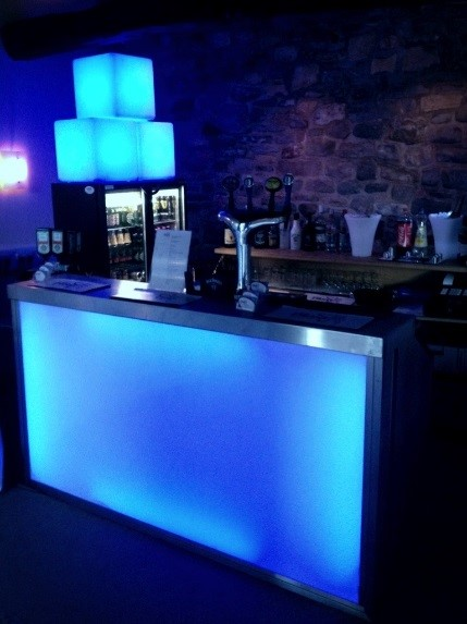 LED Bar and Furniture